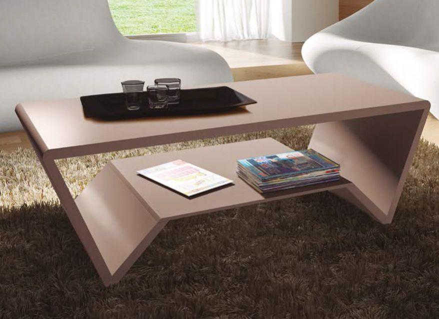 mesa de centro geométrica