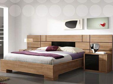 dormitorio matrimonio madera natural